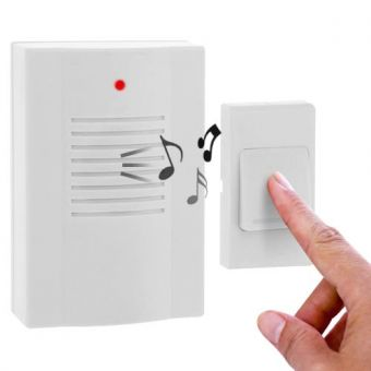 Wireless Doorbell with 16 Melodies