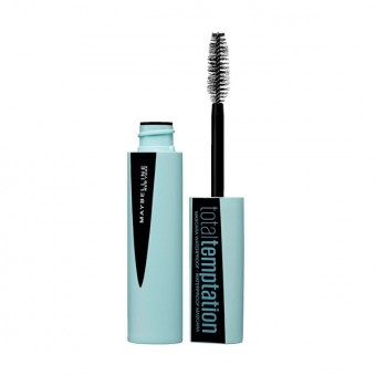 Eyelash Mascara Total Temptation Waterproof Maybelline (9.4 ml)