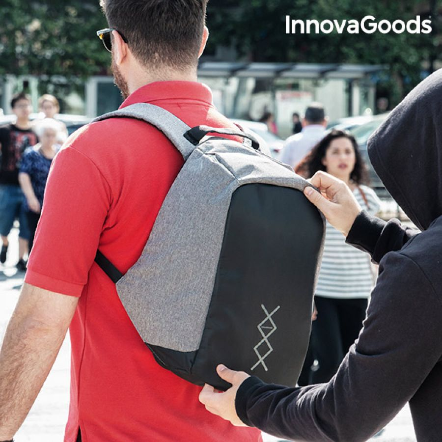 InnovaGoods Anti-Theft Backpack