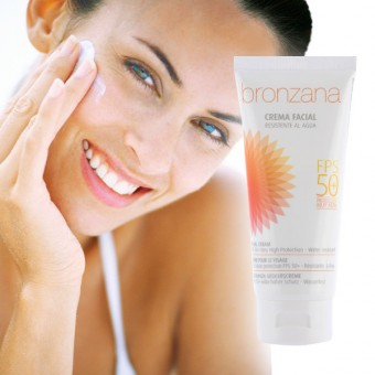 Protective face sunscreens