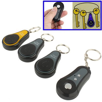 Wireless RF Super Finder Anti-lost Alarm Keychain