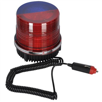 Brilliant Strong Xenon Flash Warning Light Red / Blue