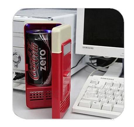 USB refrigerator (Red)